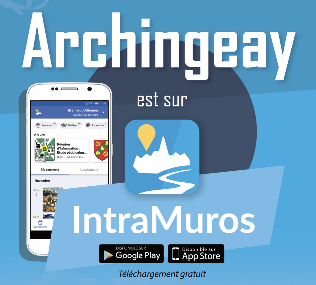 Archingeay est sur IntraMuros