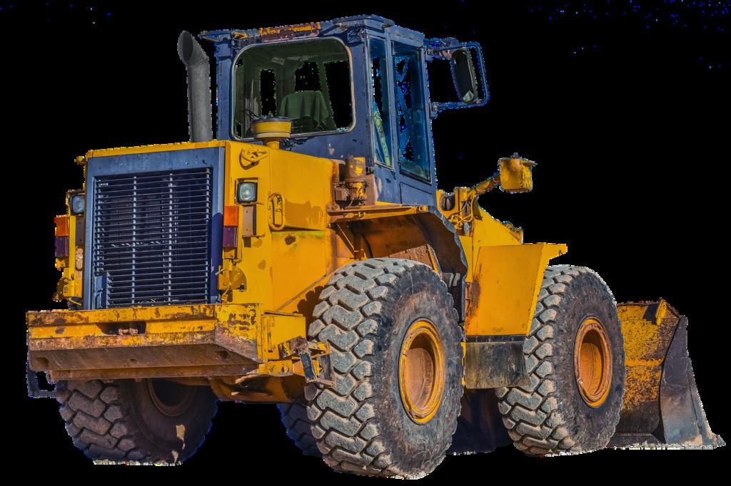 Wheel Loader Isolated Quarry Work  - maja7777 / Pixabay