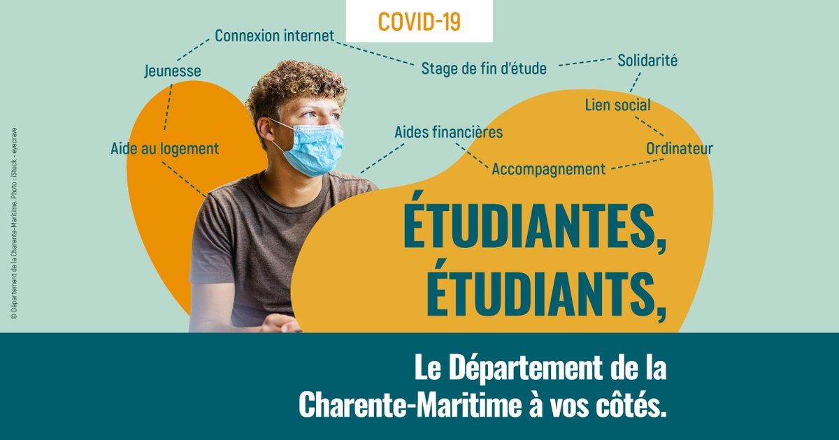 COVID-19 : DES AIDES POUR LES ÉTUDIANTES, ÉTUDIANTS
